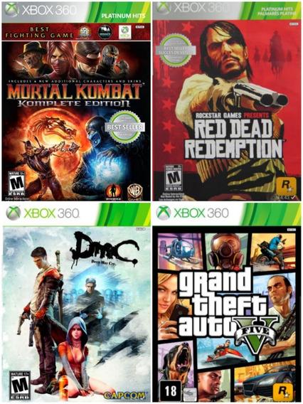 Jogos Xbox 360 Mídia Digital Original
