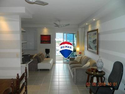 Apartamento Residencial À Venda, Barra Da Tijuca, Rio De Janeiro. Próximo A Região Da Abm. - Ap0215