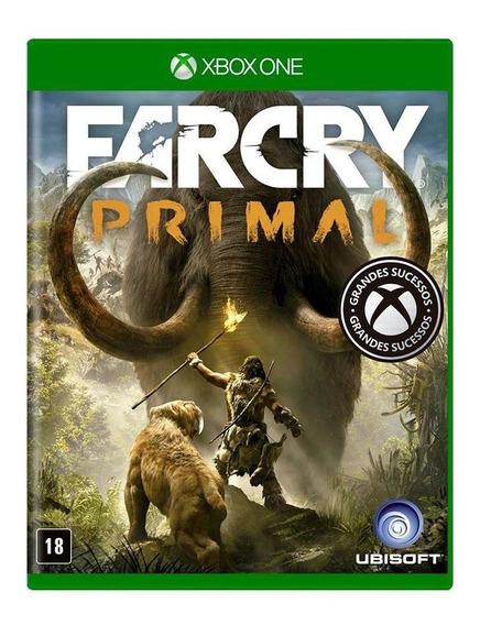 Far Cry Primal Xbox One Mídia Física Novo Lacrado