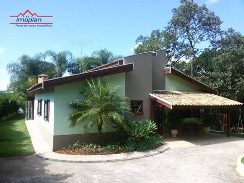 Chácara À Venda, 3500 M² Por R$ 1.275.000,00 - Usina - Atibaia/sp - Ch0205