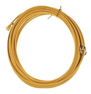 King Saddlery Inc Quad Poly Gold 4 Strand Ranch Rope
