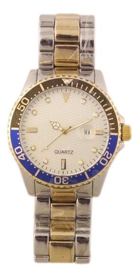 Oferta Relógio Pulso Masculino Quartz Pulseira Mista B5692