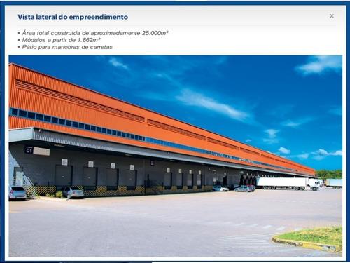 Imagem 1 de 20 de Espaço Em Condomínio Logístico Para Locação Na Grande Porto Alegre, Rs, Infraestrutura Completa, Esteio, Rs, Alugar Espaço Para Logística Distribuição - Cl2487 - 68026800