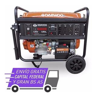 Grupo Electrogeno Generador Daewoo Gd6000e 6.25 Kva Cuotas