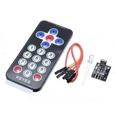 Kit Módulo Sensor Ir + Controle