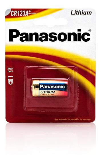 10 Baterias Panasonic Cr123