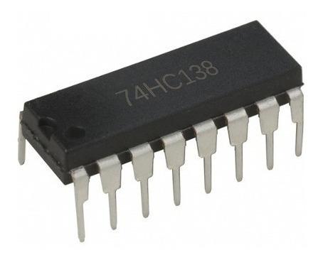 74hc1383 A 8 Decodificador/demultiplexor Original Texas