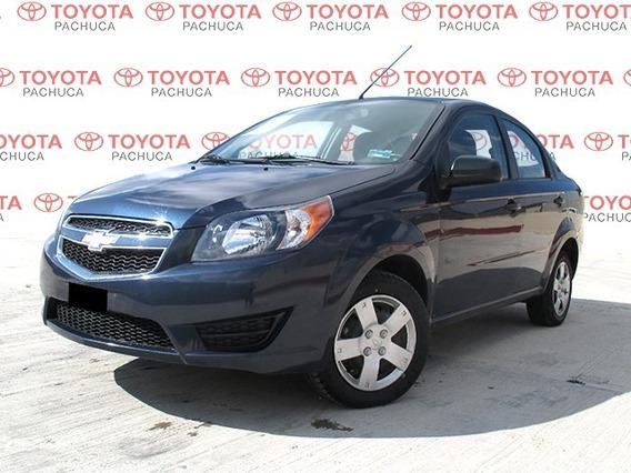 Chevrolet Aveo Ls Tm 2018 Azul