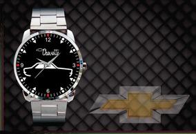 Relógio De Pulso Personalizado Logo Chevette 77 Tubarão