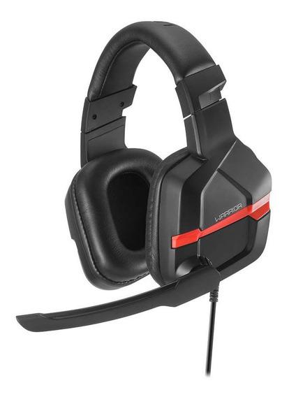 Fone De Ouvido - Headset Pc Gamer - Warrior Askari - Vermelh