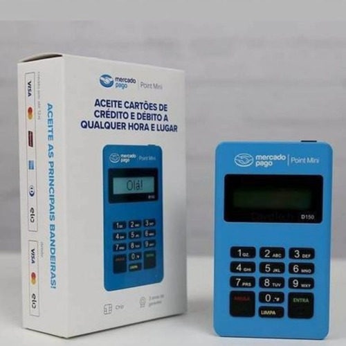 Máquina De Cartão Point Mini - Promoção De Abertura De Loja