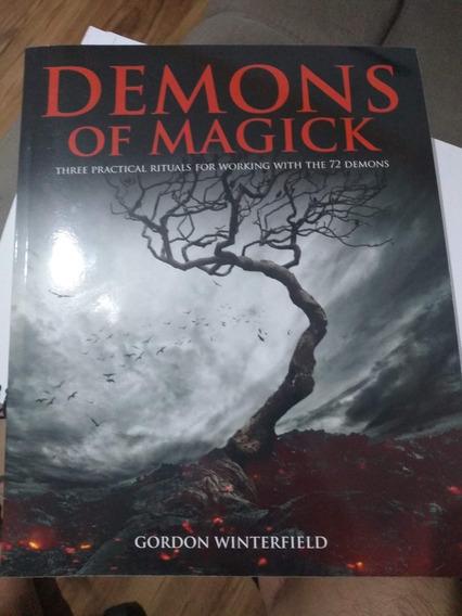 Livro Demons Of Magick Gordon Winterfield Gallery Of Magick