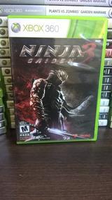 Ninja Gaiden 3 Xbox 360 - Original Mídia Física Frete R$ 12