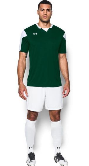 Playera De Hombre Para Fútbol Soccer Under Armour/maquina Je
