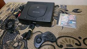 Sega Saturn Chaveado Com Jogo Original Funcionando 100%. D1