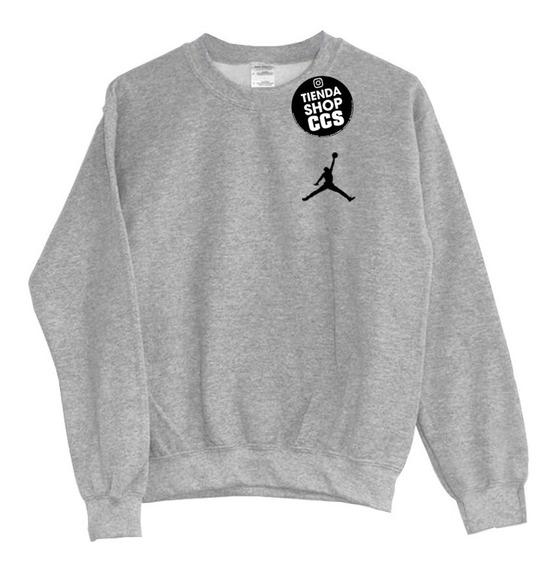 Sweater Jordan Suéter Sin Capucha Algodón Dama Y Caballero