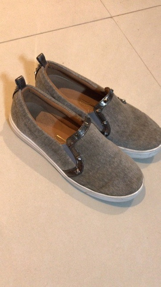 Slip On Cinza Santa Lolla