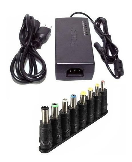 Fonte Carregador Universal Notebook Adaptador Power 120w 24v