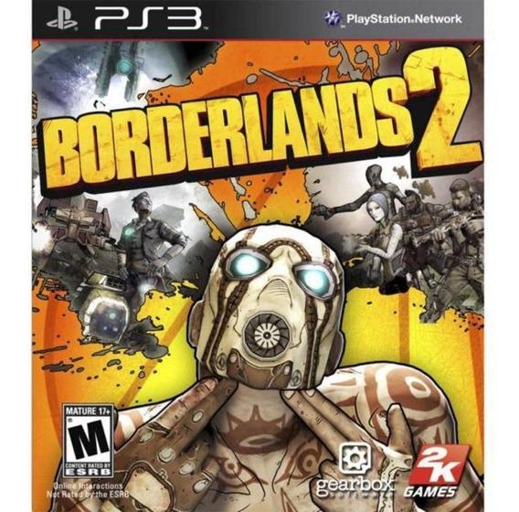 Borderlands 2 Ps3 Mídia Física Novo Lacrado Rj ( Em Inglês )