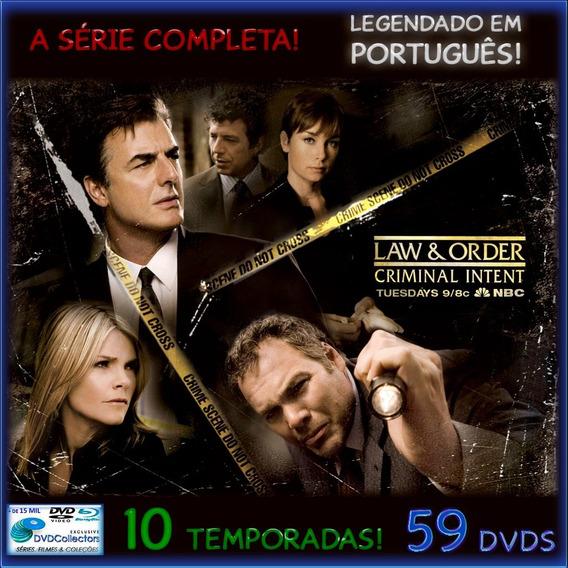 Law And Order Criminal Intent [10 Temporadas] Serie Completa