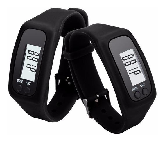 3 Pedômetro Km Caloria Aeróbio Exercício Cardio Melhor Preço