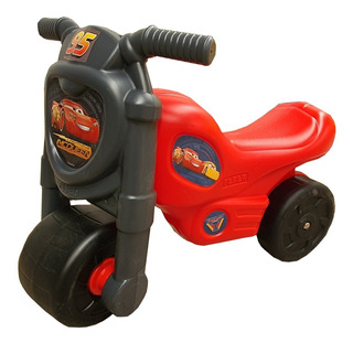Montable Tipo Moto Para Niños Resistente, Cars Original!!!