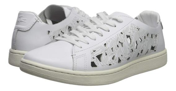 Zapatillas Lacoste Carnaby Evo 119 5 Sfa Blanco 65t Mujer