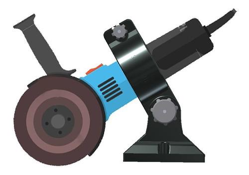 Imagen 1 de 8 de Soporte Amoladora Angular Reforzada 3d.obis