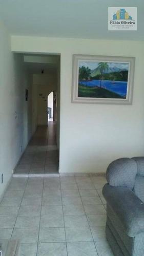Sobrado  Residencial À Venda, Vila Progresso, Santo André. - So0332