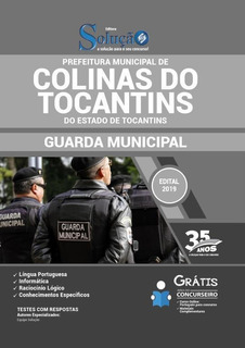 Apostila Colinas Do Tocantins To - Guarda Municipal