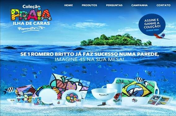 Coleção Caras Romero Britto - Peças Avulsas