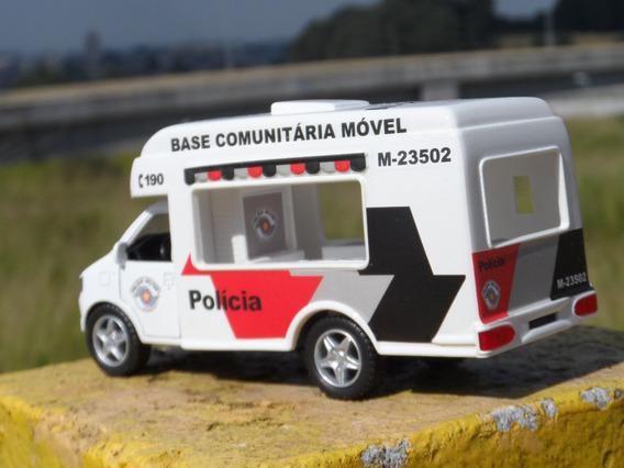 Miniatura Polícia Militar Base Comunitária Móvel