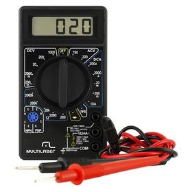 Multímetro Digital Preto - Au325 - Multilaser