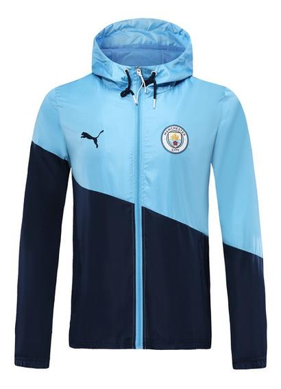Jaqueta Corta Vento Manchester City Puma Masculina