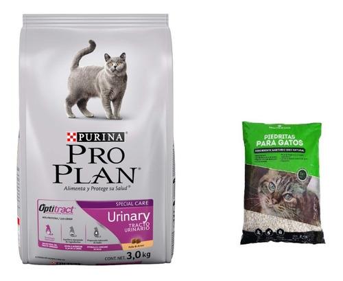 Pro Plan Urinary 3k + 2k Piedras Sanitarias + Envio Gratis