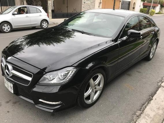 Mercedes Benz Cls 350 2014, Negro, Un Dueño,