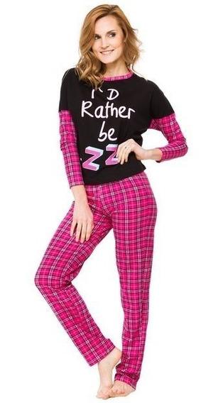 Pijama Invierno Nena Yawning Tutta La Frutta 472-15