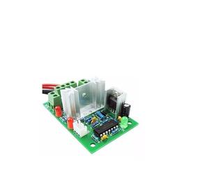 Pwm Controlador De Velocidade Motor Dc 10a Botão Reversão