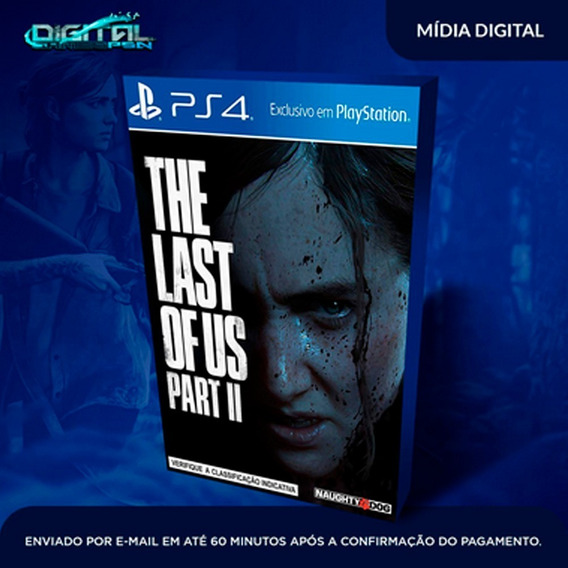 The Last Of Us Part 2 Ps4 Game Digital Pt Br Envio 30min!