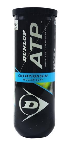 Tubo De Pelotas Dunlop Atp Championship X3 Full