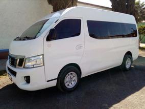 Nissan Urvan Nv350, Larga 15 Pasajeros 2014