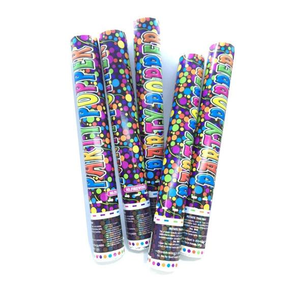 Cañon 40 Cm Bazuca Bazooka Popper Confetti Party Batucada