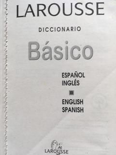 Diccionario Ingles-español Larousse