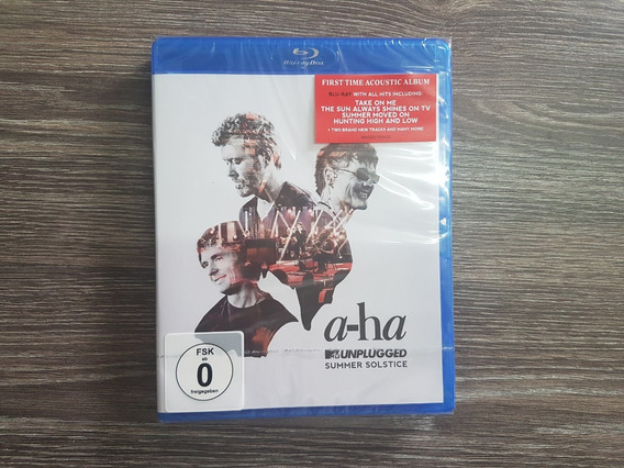 A-ha - Summer Solstice - Mtv Unplugged - Blu Ray Lacrado