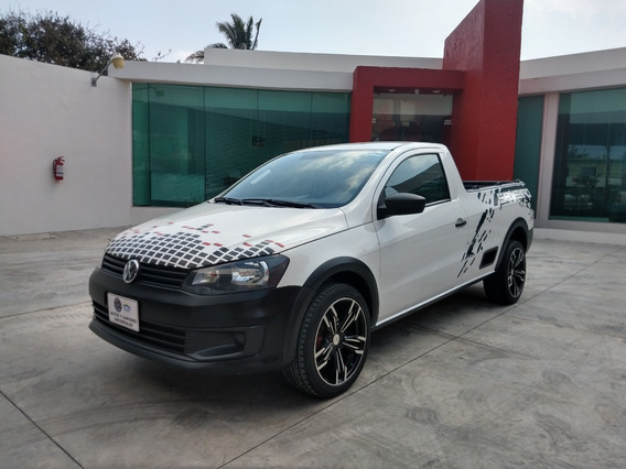 Volkswagen Saveiro 1.6 Starline Aa/dh Mt 2016 Blanco Candy