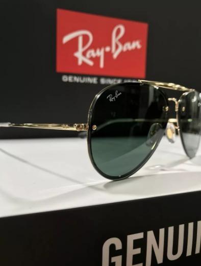 Oculos De Sol Ray Ban Blaze Aviador Rb3584 Lançamento