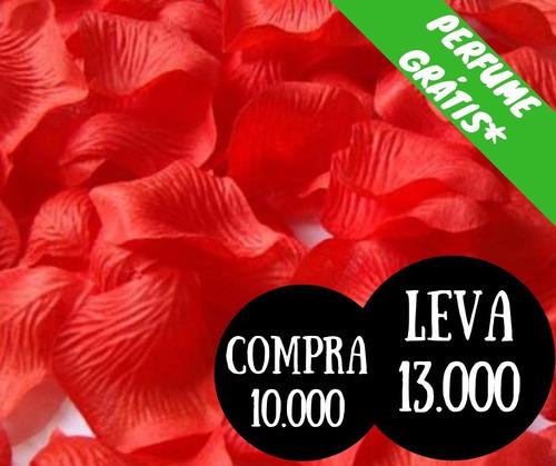 Imagem 1 de 2 de 10000 Pétalas Artificiais Vermelhas Casamento Chuva Noiva