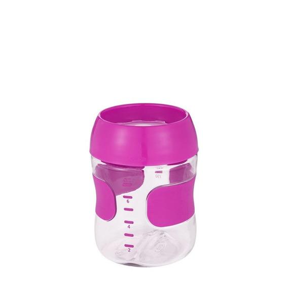 Copo Treinamento Plastico 210 Ml - Rosa - Oxotot