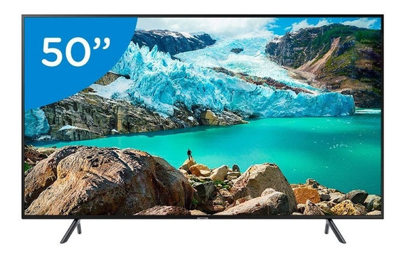 Smart Tv Led 50 Polegadas Samsung 50ru7100 Ultra Hd 4k