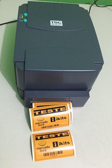 Impressora De Etiqueta Tsc Ttp-342pro 300dpi Com Cutter